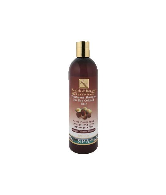 szampon pielegnacyjny do wlosow z olejkiem arganowym hb 400 ml