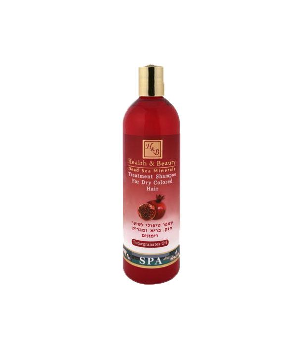 szampon do wlosow suchych i zniszczonych z ekstraktem z granatu hb 400 ml