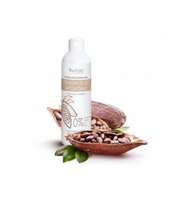 biała podłużna butelka z kokosem kosmetyk